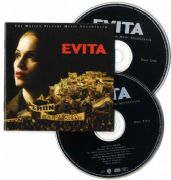 EVITA SOUNDTRACK -   CD ALBUM SIGNED BY ALAN PARKER
